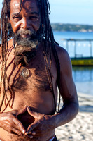 Rastaman at 7 miles beach